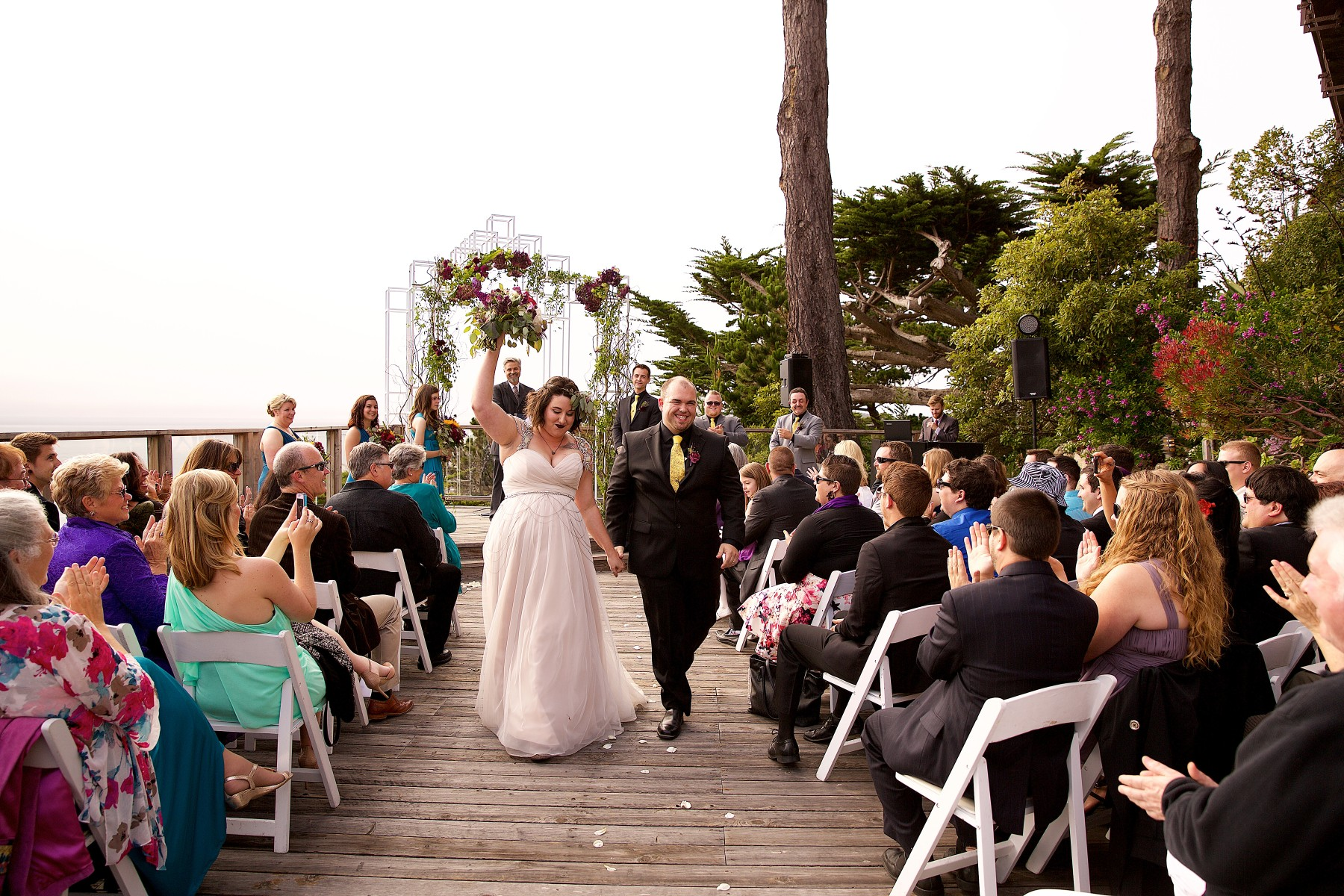 Lauren And David S Wedding At Point Lobos Carmel Highlands Hyatt 98