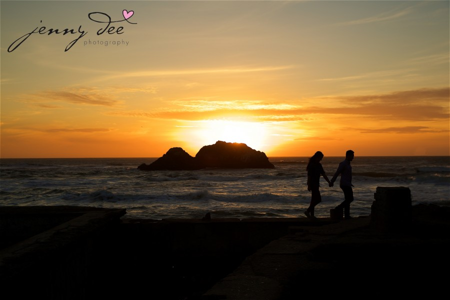Engagement at Point Lobos and Sutro Bathhouse in San Francisco 12