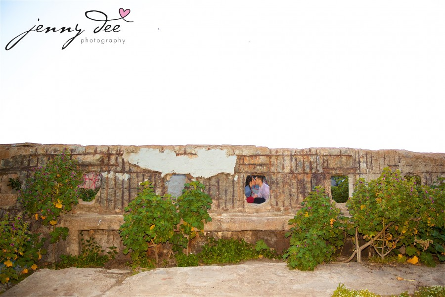 Engagement at Point Lobos and Sutro Bathhouse in San Francisco 14