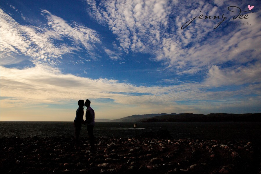 Engagement at Point Lobos and Sutro Bathhouse in San Francisco 2