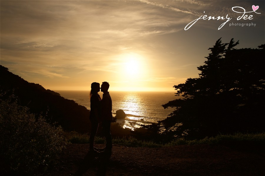Engagement at Point Lobos and Sutro Bathhouse in San Francisco 9
