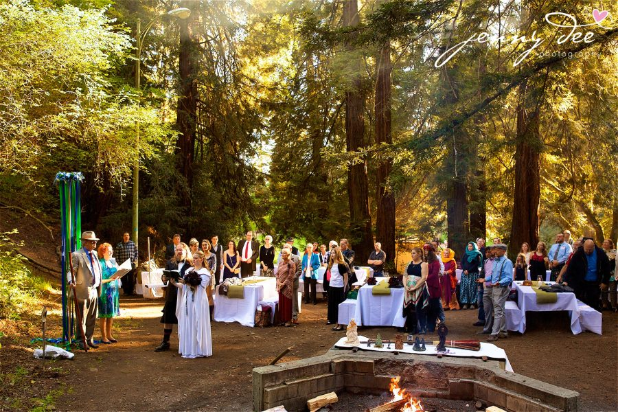 Wedding At The Joaquin Miller State Park Community Center In Oakland 32