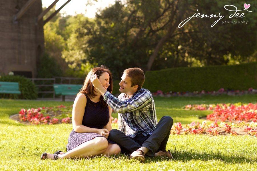 Tracy and Nathan's engagement shoot at Golden Gate park 10