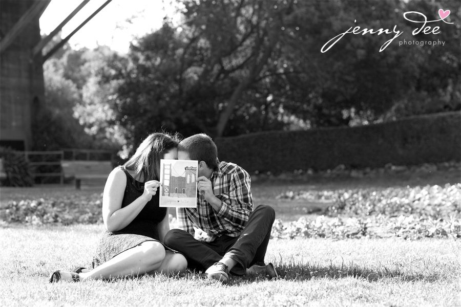 Tracy and Nathan's engagement shoot at Golden Gate park 11