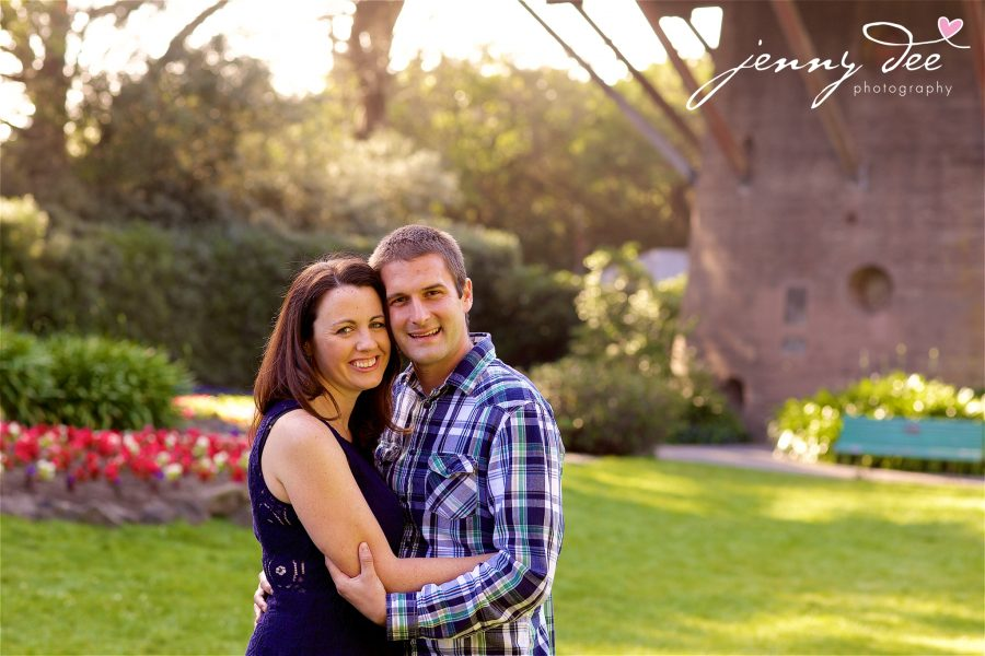 Tracy and Nathan's engagement shoot at Golden Gate park 12