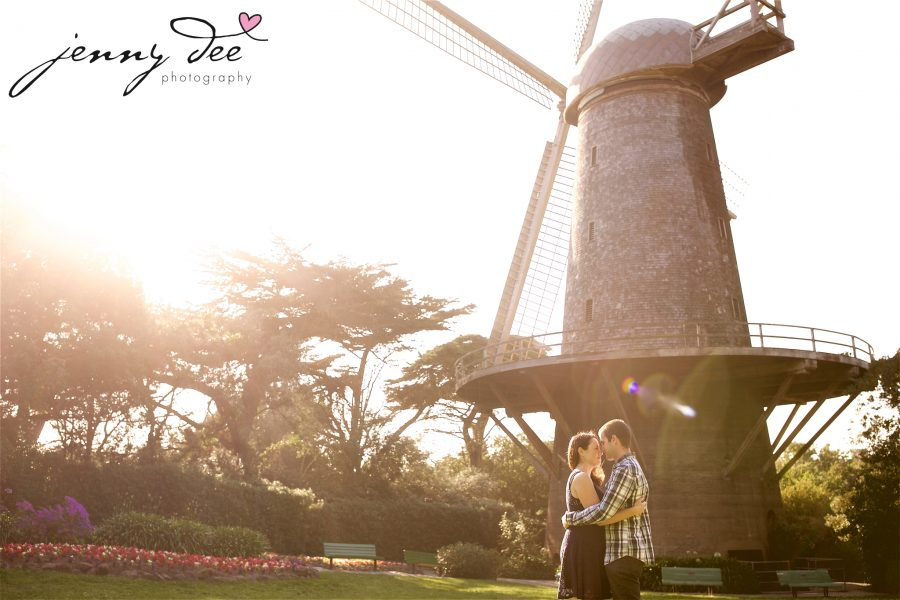 Tracy and Nathan's engagement shoot at Golden Gate park 14