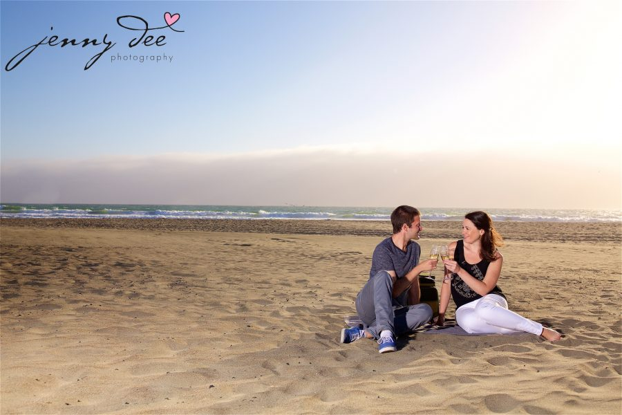 Tracy and Nathan's engagement shoot at Golden Gate park 15