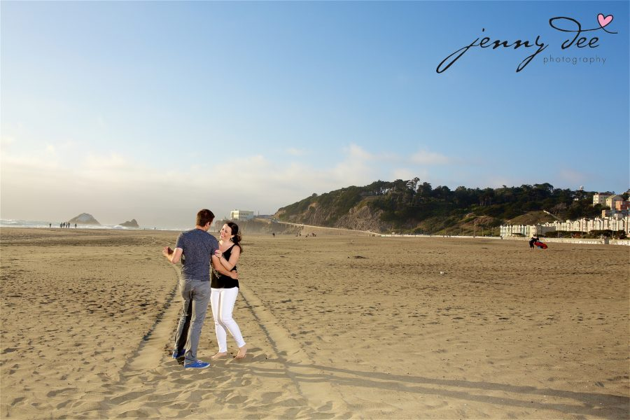 Tracy and Nathan's engagement shoot at Golden Gate park 17