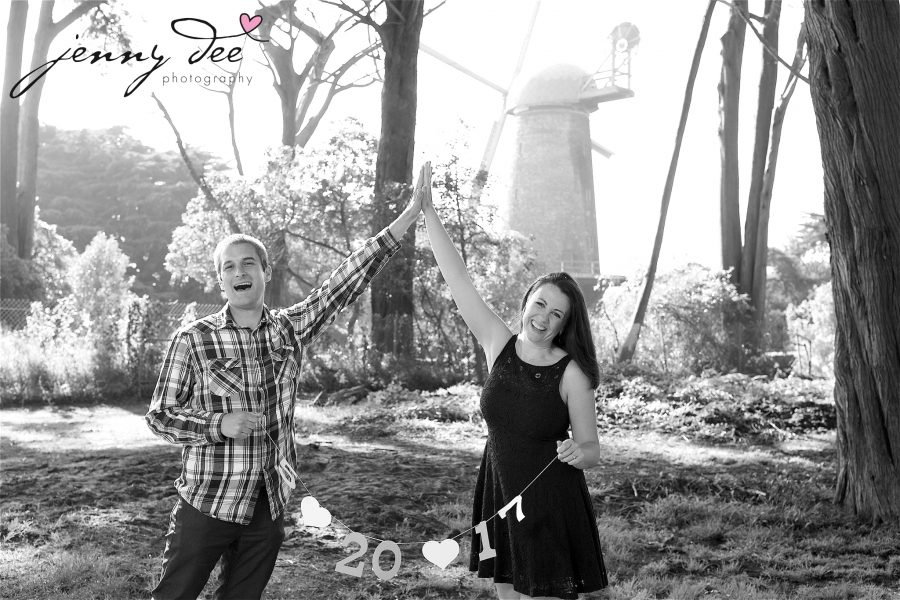 Tracy and Nathan's engagement shoot at Golden Gate park 2