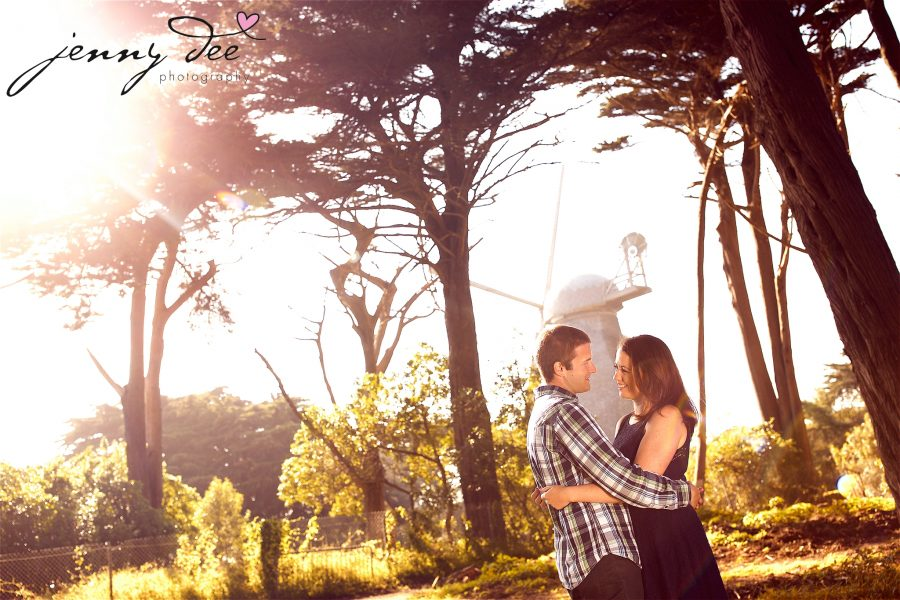 Tracy and Nathan's engagement shoot at Golden Gate park 3