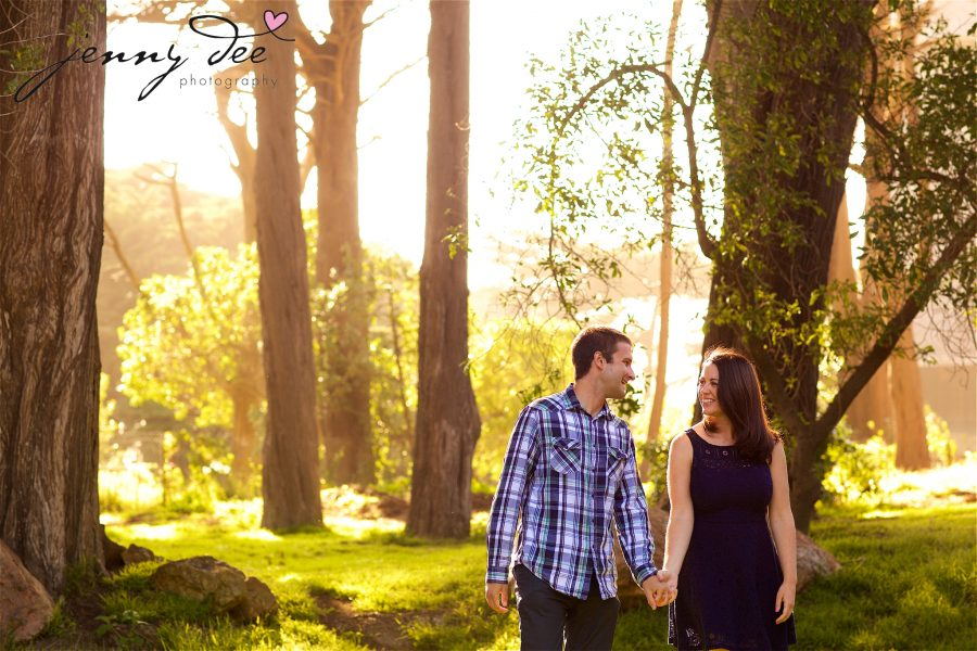 Tracy and Nathan's engagement shoot at Golden Gate park 6