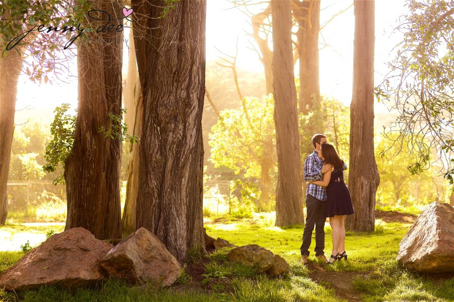 Tracy and Nathan's engagement shoot at Golden Gate park 7