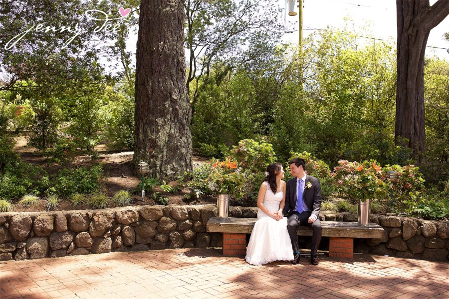 Woan foong and mark san francisco bay area wedding for Forest hill wedding venue
