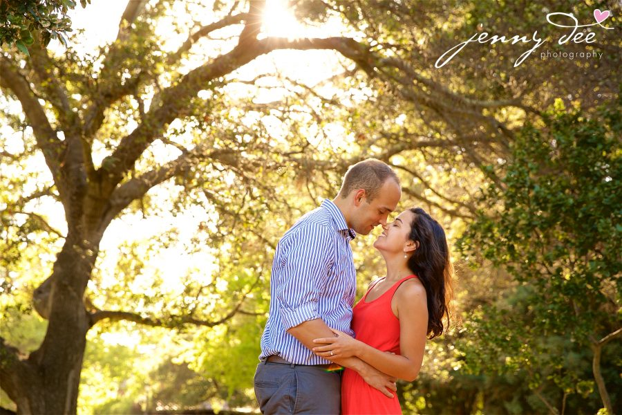 Allie and Stan's Engagement photos at the UC Berkeley campus 1