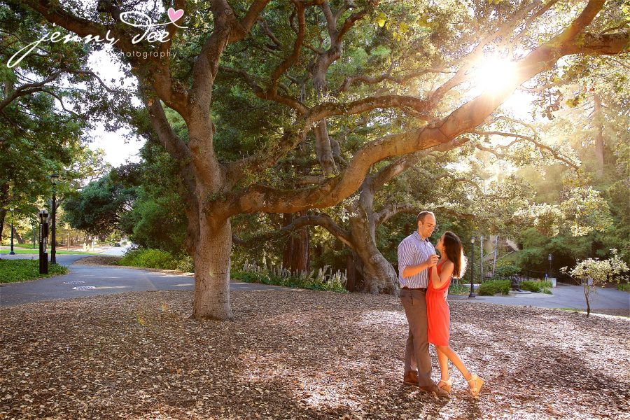 Allie and Stan's Engagement photos at the UC Berkeley campus 10