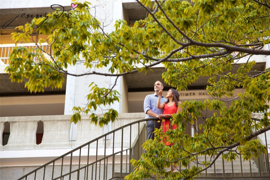 Allie and Stan's Engagement photos at the UC Berkeley campus 15