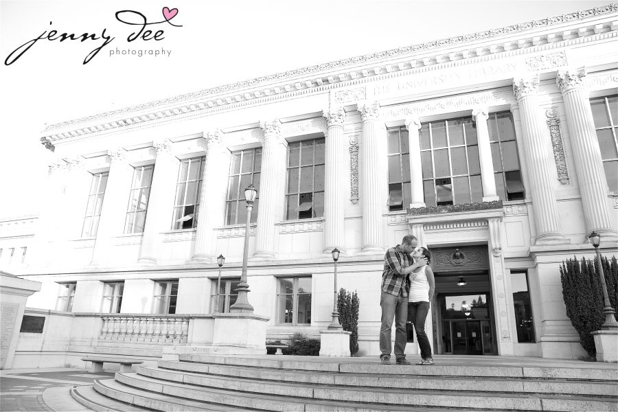 Allie and Stan's Engagement photos at the UC Berkeley campus 18