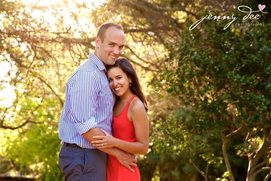 Allie and Stan's Engagement photos at the UC Berkeley campus 2