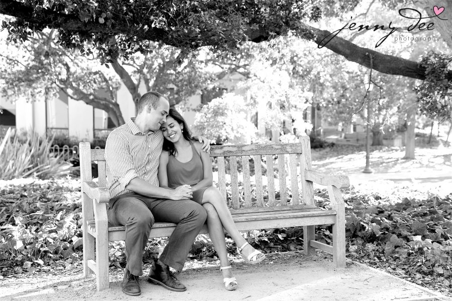 Allie and Stan's Engagement photos at the UC Berkeley campus 3