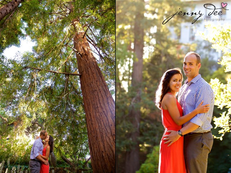 Allie and Stan's Engagement photos at the UC Berkeley campus 5