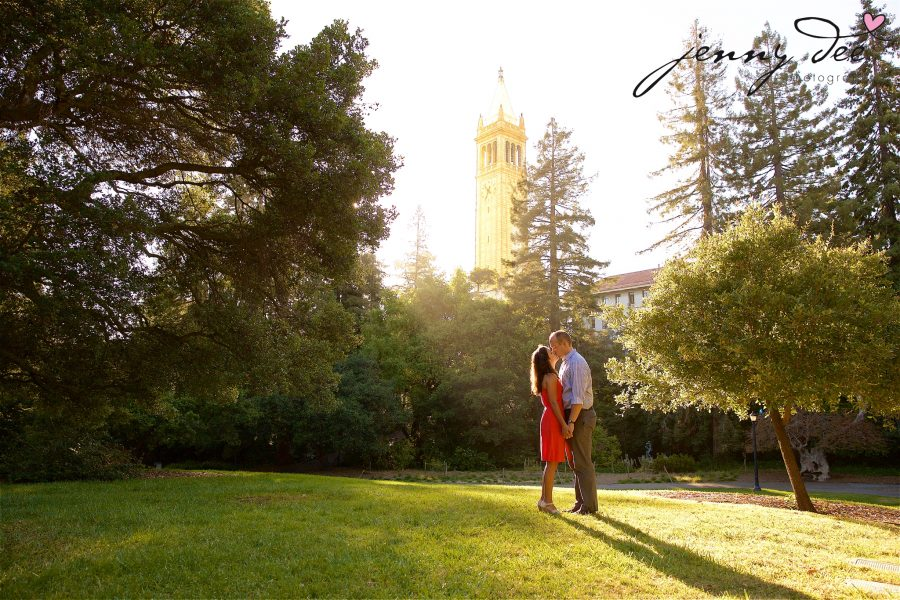 Allie and Stan's Engagement photos at the UC Berkeley campus 7