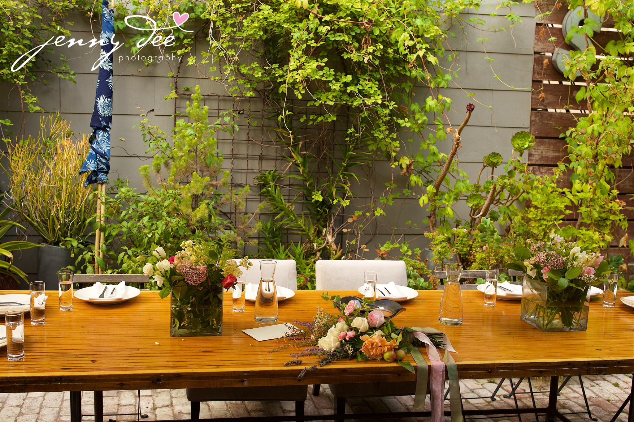 Wedding At Shakespeare Garden In Golden Gate Park And Stable Cafe